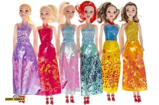 Puppe29cm langes Kleid sortiert