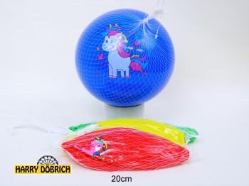 Ball Einhorn 20cm 4-fach sortiert