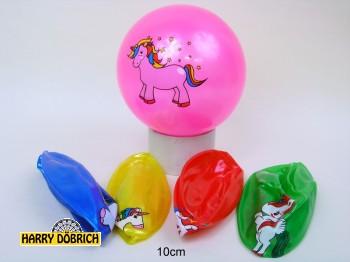 Ball Einhorn 10cm 5-fach sortiert