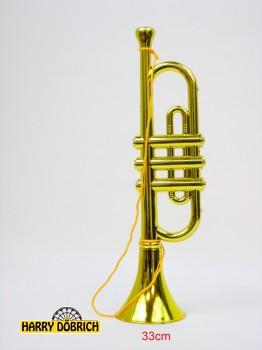 Trompete gold 33cm
