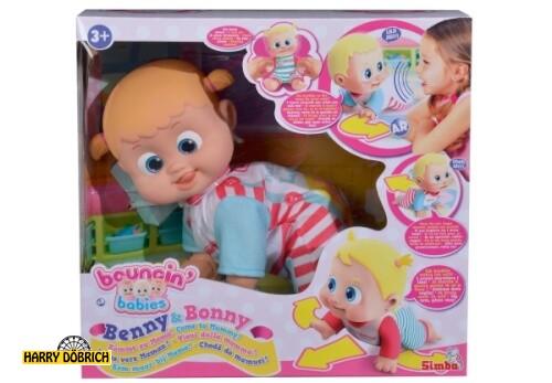 Babypuppe Bouncin Babies Bonny