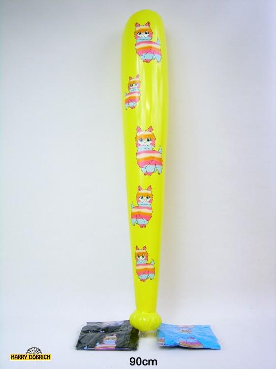 Aufblas- Keule Lama 90cm 3 Farben sortiert