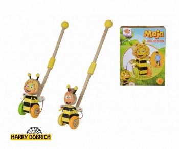 Stabroller Holz Biene Maja 2-fach sortiert