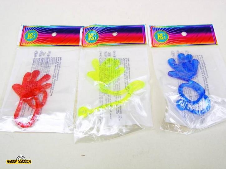 Klatsch-Hand 4cm ohne Griff 3 Farben