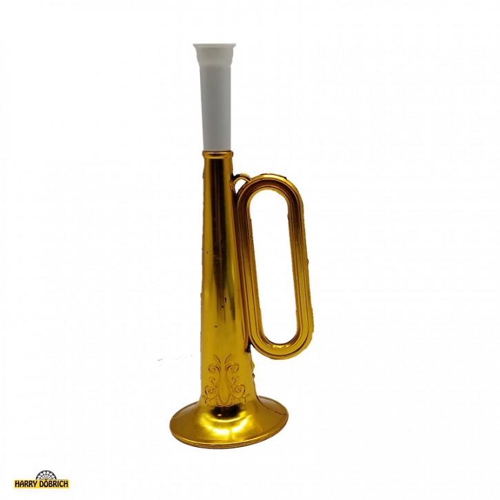 Trompete 17cm gold