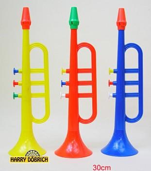 Trompete 30cm farbig sortiert