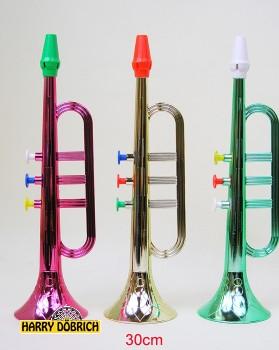 Trompete elox. 30cm farbig sortiert
