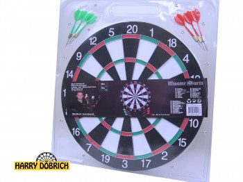 Dartspiel 40cm 6 Pfeile