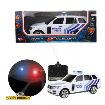 RC Polizeiauto mit Licht+Sound