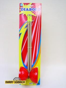 Diabolo 40x9cm 2-fach sortiert