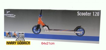 Scooter Hornet 120 Hudora blau/orange