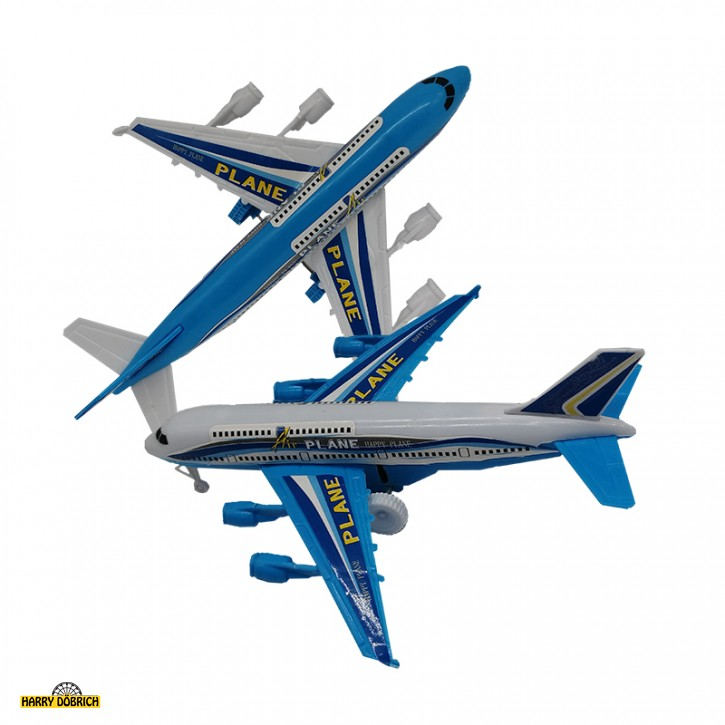 Flugzeug 16x14cm Freilauf sortiert