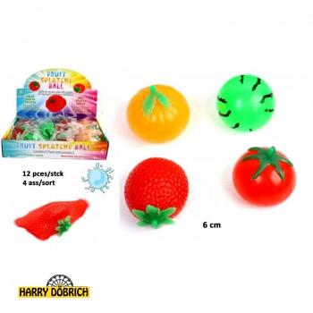 Früchte 6cm zum Quetschen sortiert