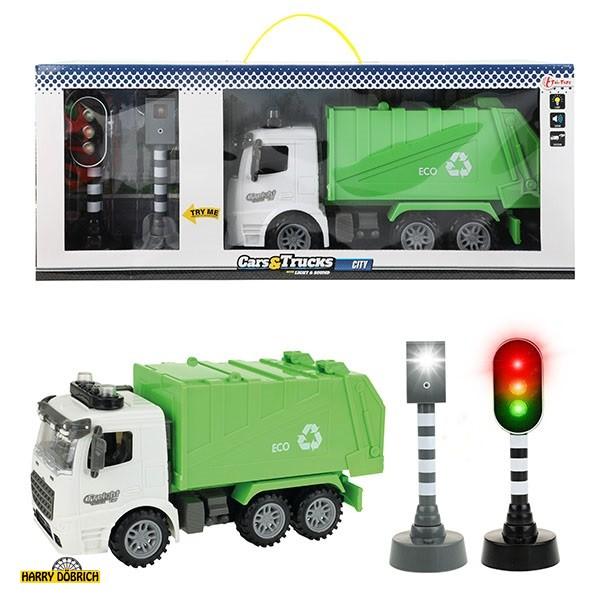 Müllauto + Ampel Licht/Sound