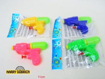 Wasserpistole 11cm 4 Farben sortiert
