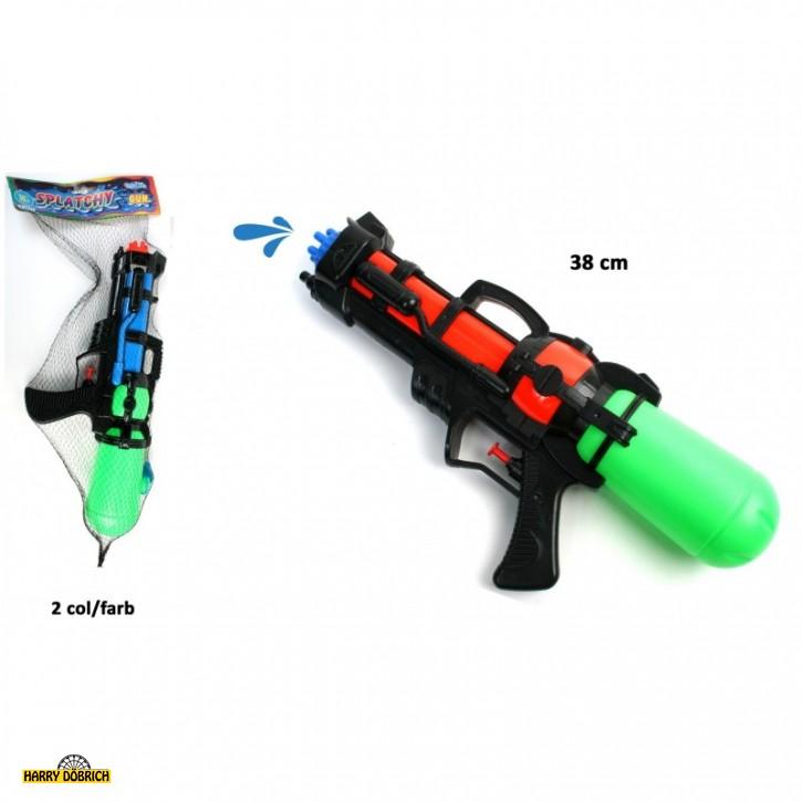 Wasserpistole 38cm sortiert