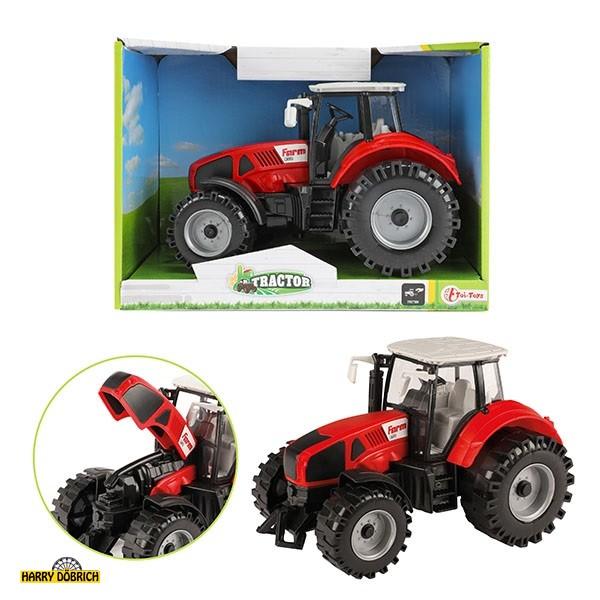 Traktor mit Friktion