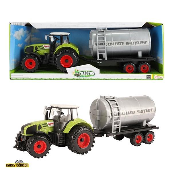 Traktor mit Wassertank