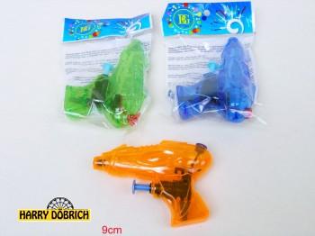 Wasserpistole 9cm 3 Farben sortiert