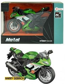 Metall  Renn Motorrad grün