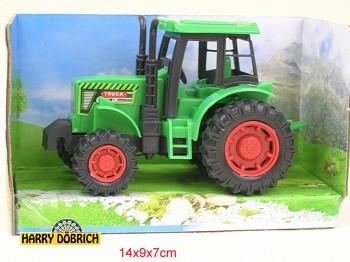 Traktor 12cm rot/grün sortiert
