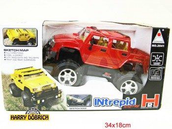 RC Jeep 27 cm 4farb.sort.