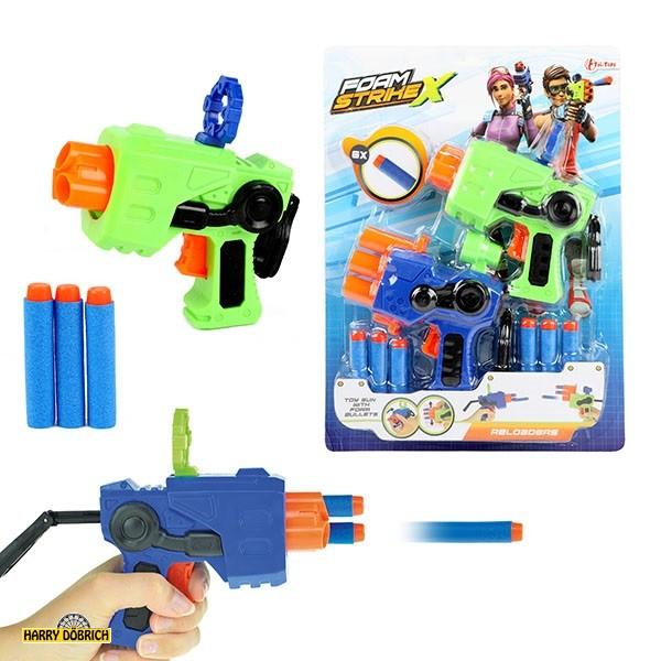 Softpfeilpistole 2er Set Foam Strike