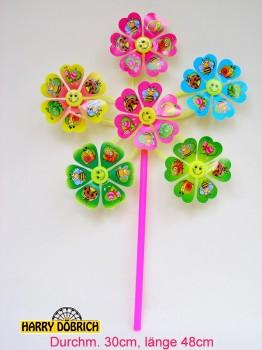 Windrad 6er Blume