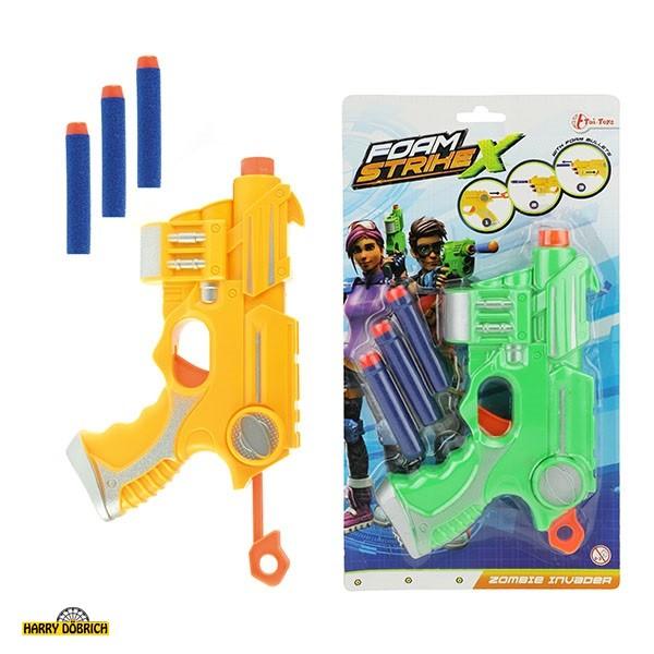 Softpistole Strike X 2 Farben sortiert