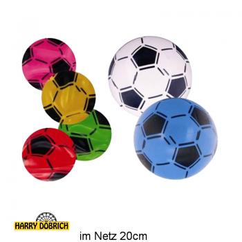 Aufblas-Fußball ca. 20cm farbig sortiert