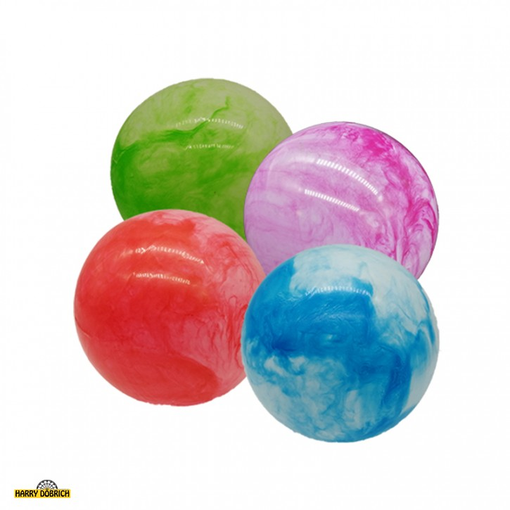 Aufblas-Ball 25cm marmoriert sortiert