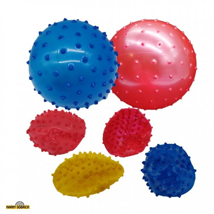 Aufblas-Noppenball 10cm sortiert