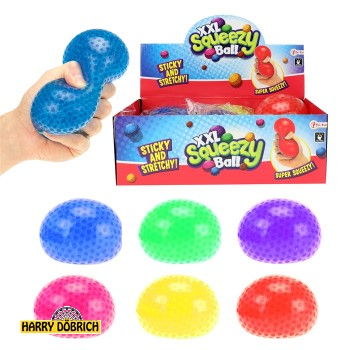 Quetschball mit Wasserperlen 6-fach sort.