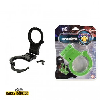 Handschellen SWAT klappbar 2 Farben sortiert