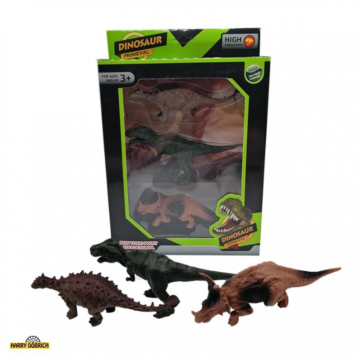 Dinosaurierset 3er in Box