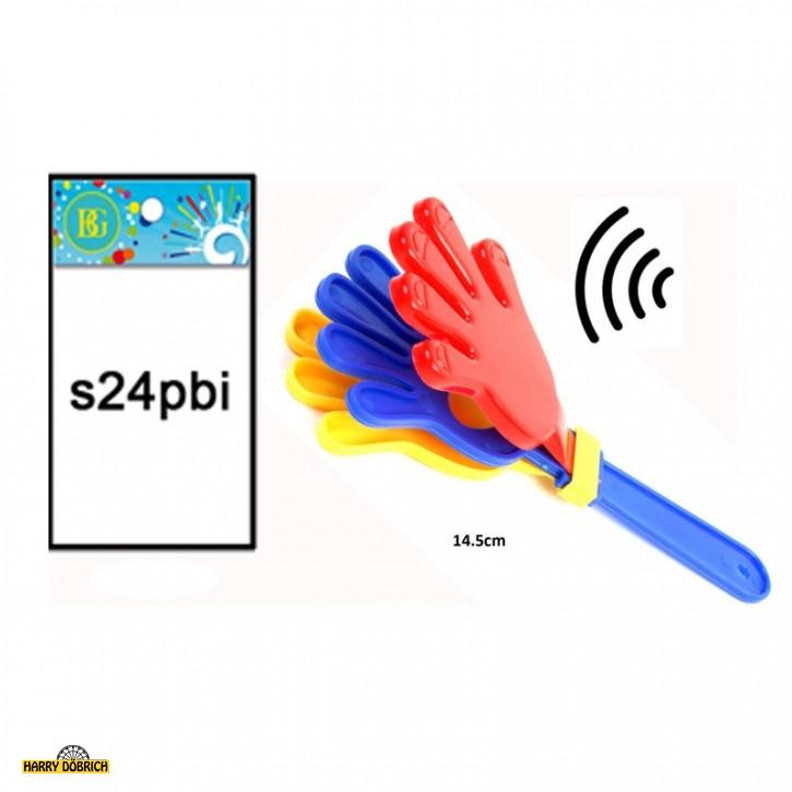 Klapperhand 14.5cm farbig sortiert