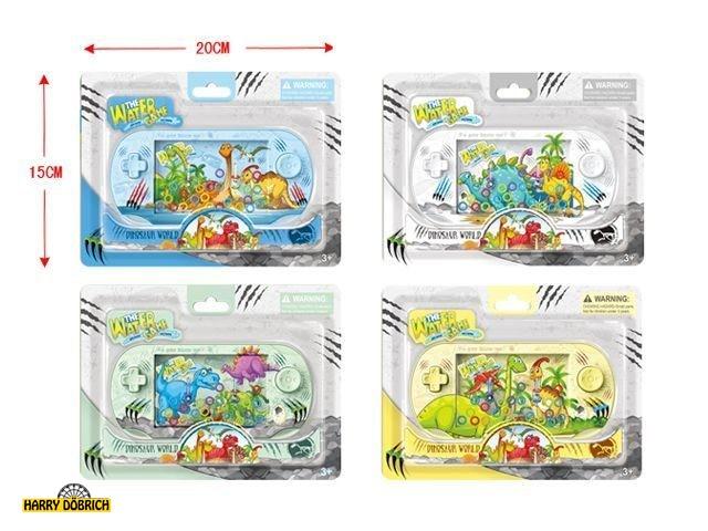 Wasserspiel Dino 15x20cm