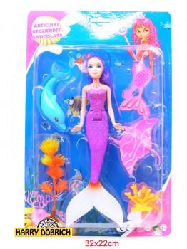 Puppe Meerjungfrau 24cm