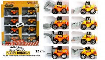 Baufahrzeuge 12cm 8er Set