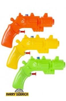 Wasserpistole 14cm 3 Farben sortiert