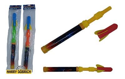 Raketen Abschießer 45cm farbig sortiert