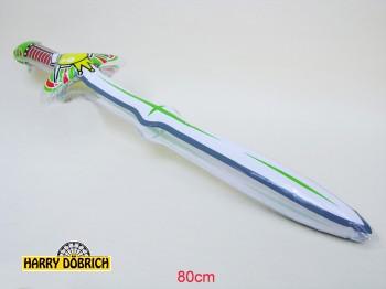 Aufblas-Ritterschwert 80cm