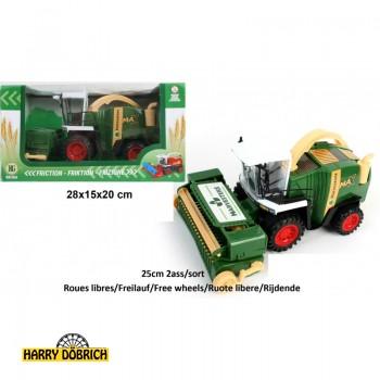 Traktor Mähdrescher 25cm