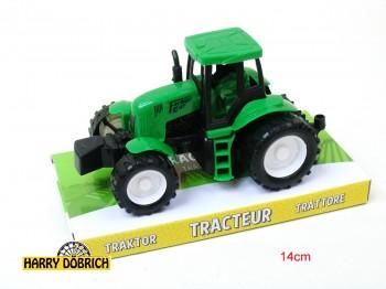 Traktor m. Friktion 14cm