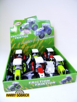 Traktor 14cm mit Friktion