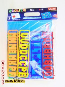 Magnettafel mit Buchstaben