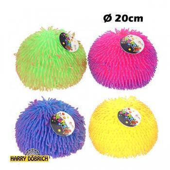 Fluffy Puffer Ball ca. 20cm farbig sortiert