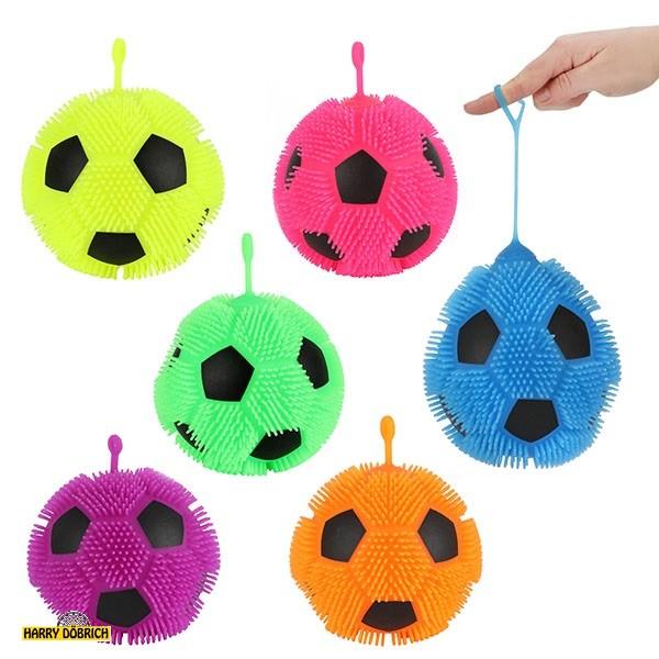 Fluffy Fußball 13cm 6 Farben sortiert