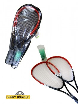 Speed Badmintonset 8tlg 3 Farben