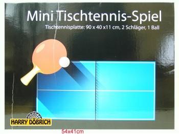 Tischtennisspiel 90x40x11cm